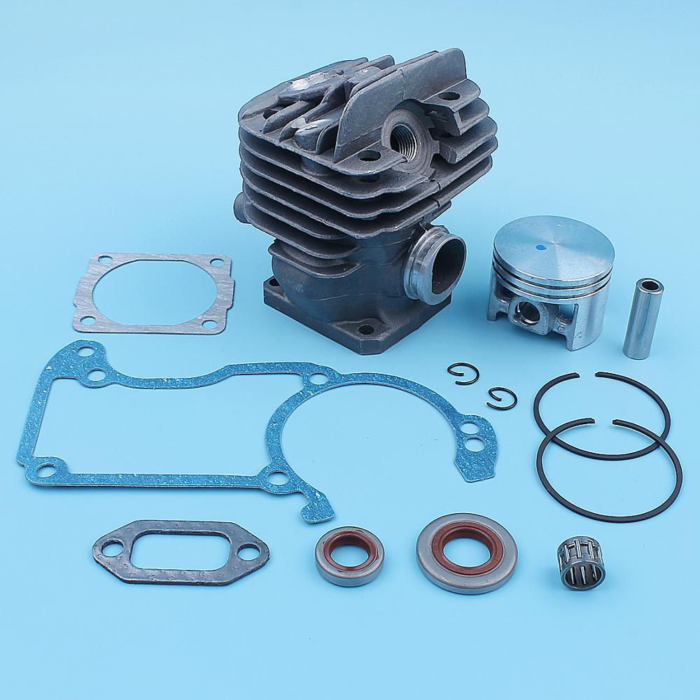 Tools : 44 7mm Nikasil Plated Cylinder Piston Kit For Stihl 026 026PRO MS260 Big Bore Chainsaw Top End Replacement Parts