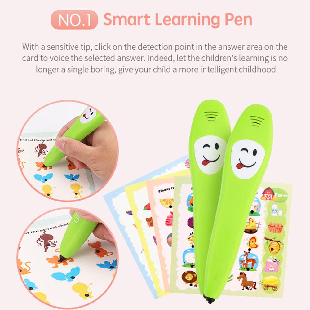 Умная Ручка для раннего обучения ручка для чтения логическая обучающая ручка для детей Прямая