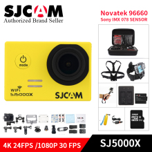 Original SJCAM SJ5000X Elite WiFi action camera 4K 24fps Gyro Sports DV NTK96660 Diving 30m Waterproof mini camcorder helmet Cam