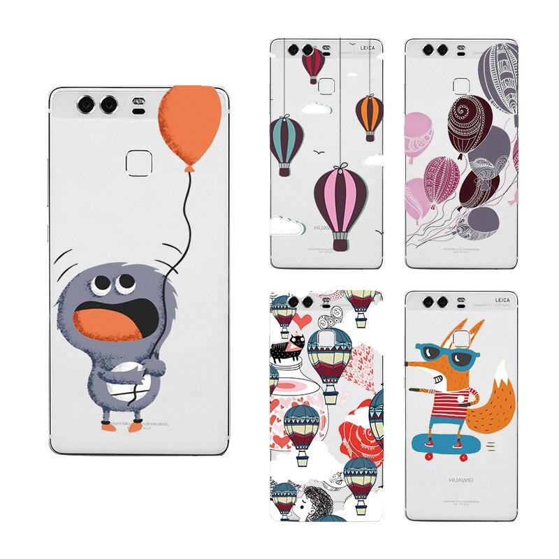 Уникальные Чехлы мило любовь приключений путешествие горячего воздуха жесткий Пластик Телефон задняя крышка чехол для Huawei P7 P8 P9 P10 lite плюс #...