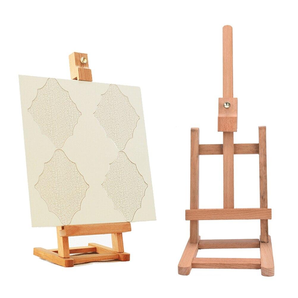 jetting sketch easel foldable painting easel display wooden sketch frame for artist cavalete para pintura - Display Easel