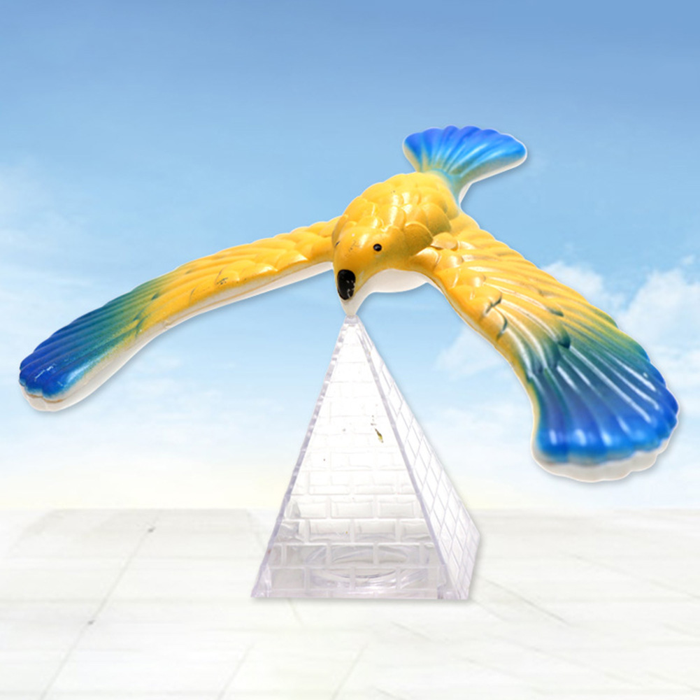 Children Novelty Balance Eagle Bird Funny  Magic Box Balance Bird Educational Toys Kid Gift Random Color