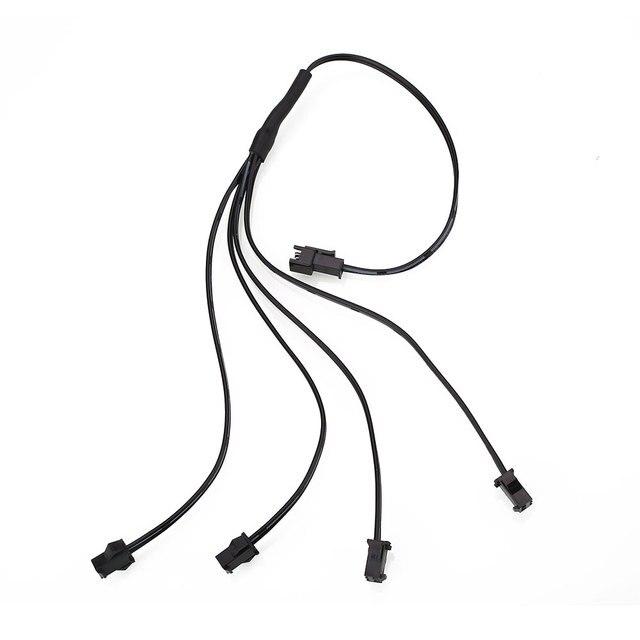 4 in 1 Splitter Kabel für EL Draht Neon Streifen Licht Spaltung ...