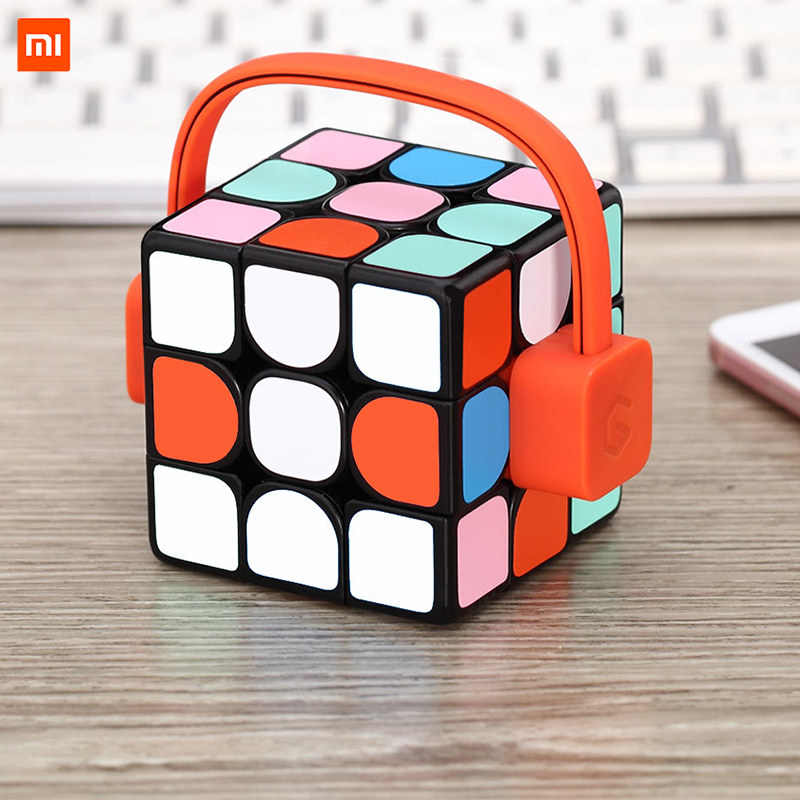 Xiaomi Giiker Super Cubo de Rubik aprender con diversión conexión Bluetooth de identificación el desarrollo intelectual de juguete