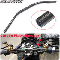 Universal 28mm 72cm Motorcycle Carbon Fiber Handle Bar Handlebar For Kawasaki Z125 Z250 Z300 Z400 Z650 Z800 Z900 Z1000 Z1000RS
