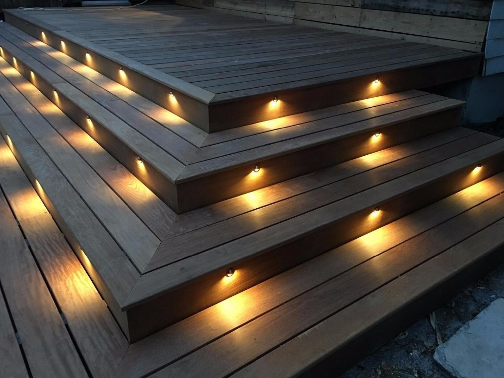 deck step lighting lighting ideas. Black Bedroom Furniture Sets. Home Design Ideas