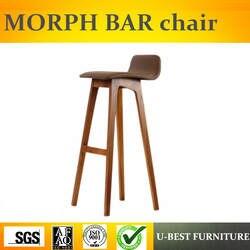 Бесплатная доставка U-BEST мягкий дешевый кухонный барный стул Счетчик Высота Западный барный стул, домашний центр кухня
