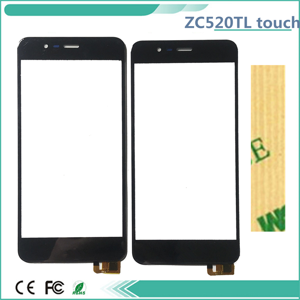 Touch Screen 5.2'' For <font><b>Asus</b></font> <font><b>Zenfone</b></font> 3 Max ZC520TL <font><b>X008D</b></font> Touchscreen Digitizer Front <font><b>Glass</b></font> Touch Panel Sensor With 3M Tape image