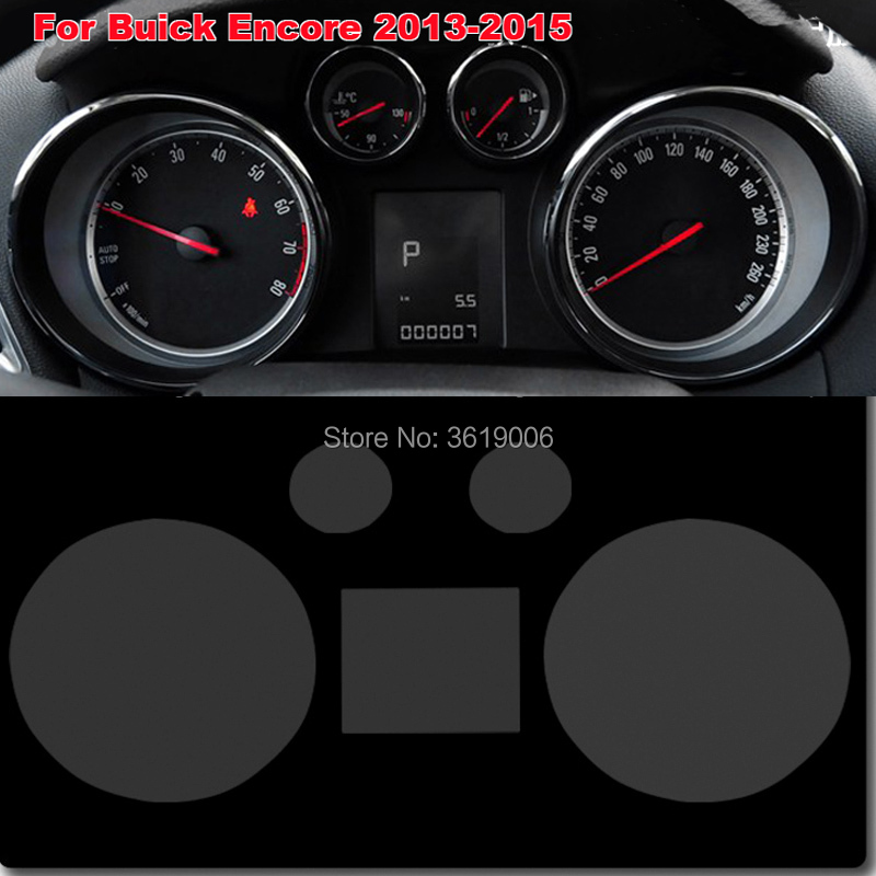 TOMMIA For Buick Encore 13-15 Screen Protector HD 4H Dashboard Protection Film Anti-scratches Car Sticker
