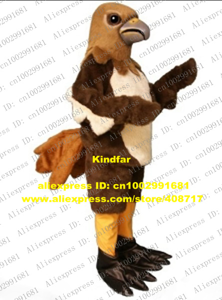 Cute Brown Tercel Lanneret Tiercel Falcon Shikra Eagle Hawk Eaglet Kestrel Mascot Costume With Sharp Gray & Cute Brown Tercel Lanneret Tiercel Falcon Shikra Eagle Hawk Eaglet ...
