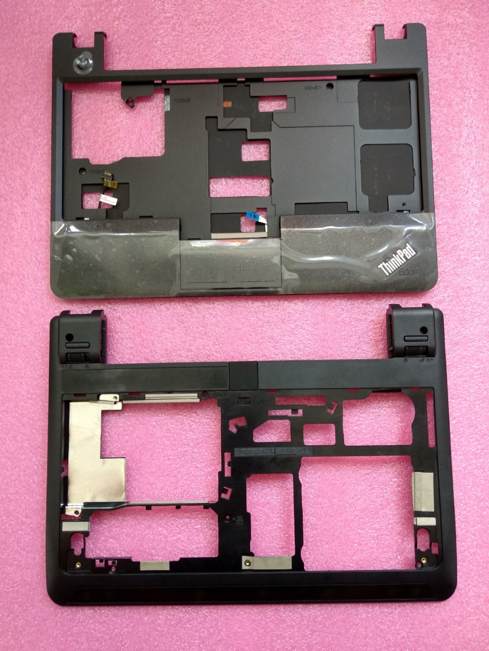New Original Lenovo ThinkPad E130 E135 Bottom Case Base Cover+Palmrest Upper Case Keyboard Bezel with Touch 00JT246 00JT244 new original for lenovo thinkpad x1 carbon 5th gen 5 back shell bottom case base cover 01lv461 sm10n01545