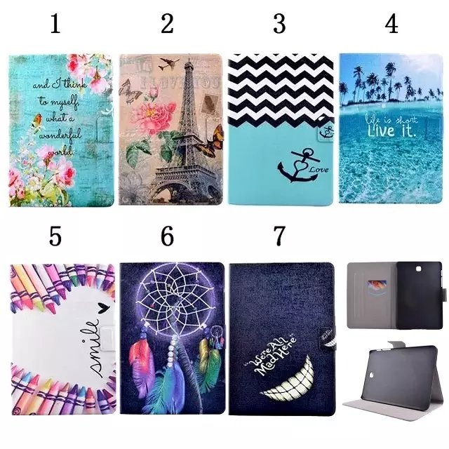 For Samsung Galaxy Tab S2 8.0 T710 /T715 Case PU Leather With Card Slots Stand Cases For Samsung T715 Tab S2 8 inch Tablet Cover