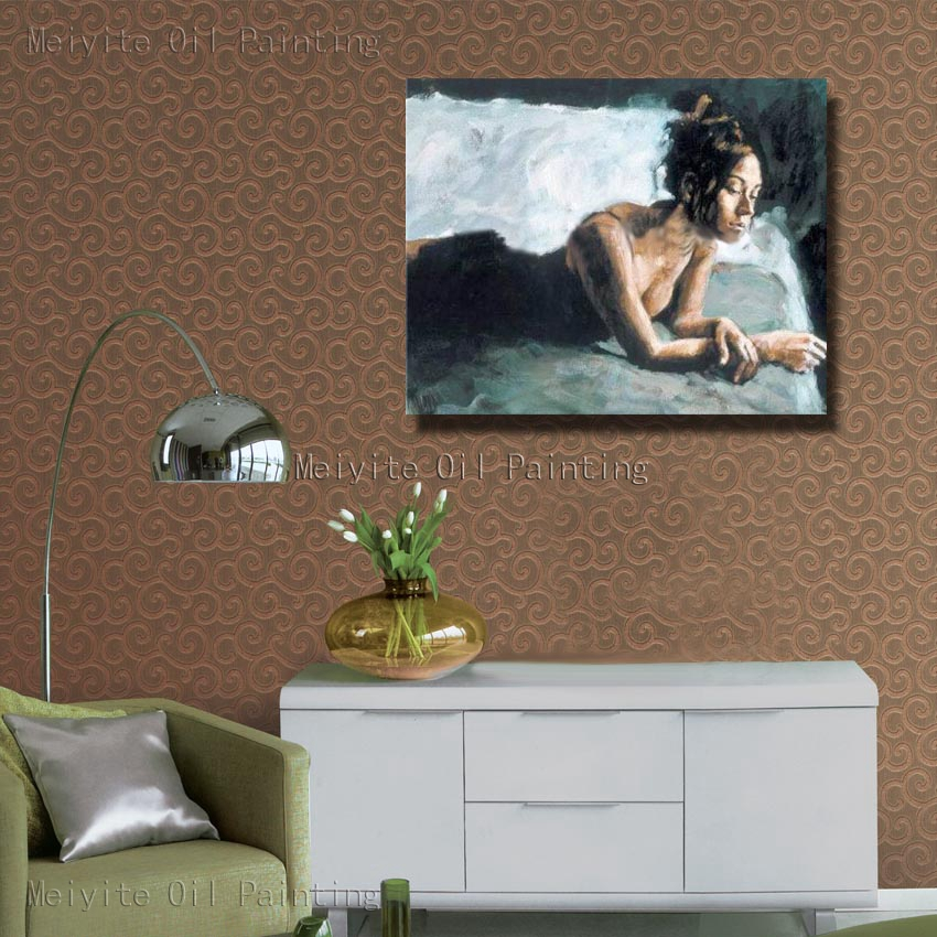 Big tits wall room Beautiful Girl Big Tits In The Bed Canvas Picture No Frame Canvas Wall Art Hand Paint Wall Pictures For Living Room Decor Picture For Living Room Wall Picturespaint Wall Aliexpress