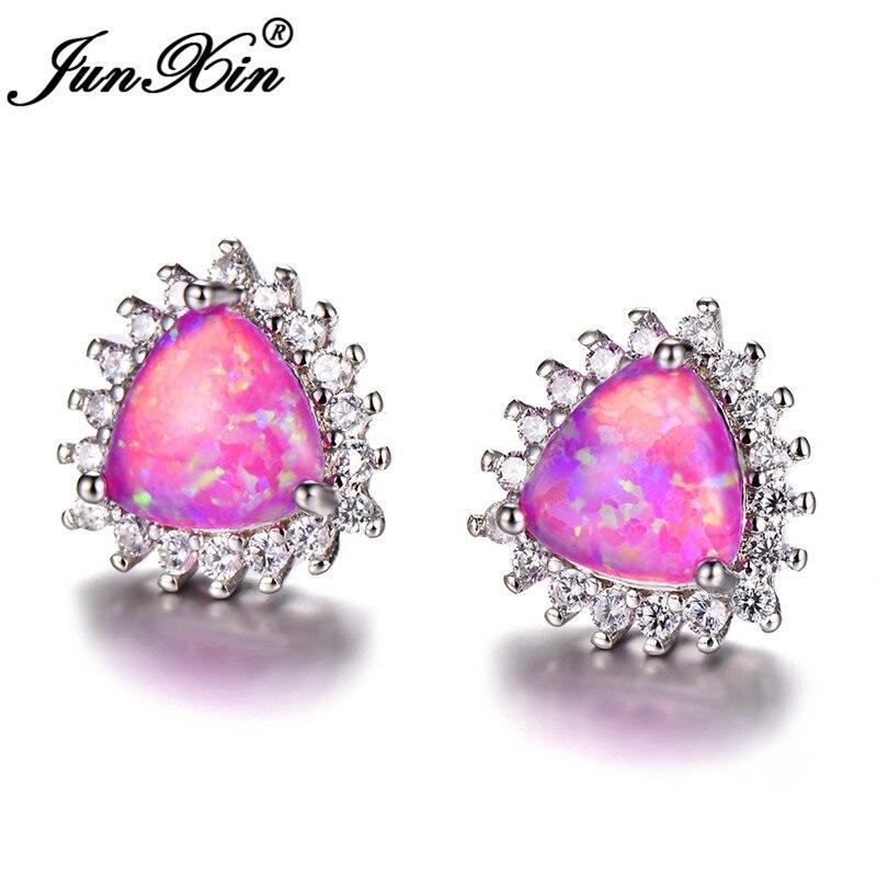 Purple Opal Earrings