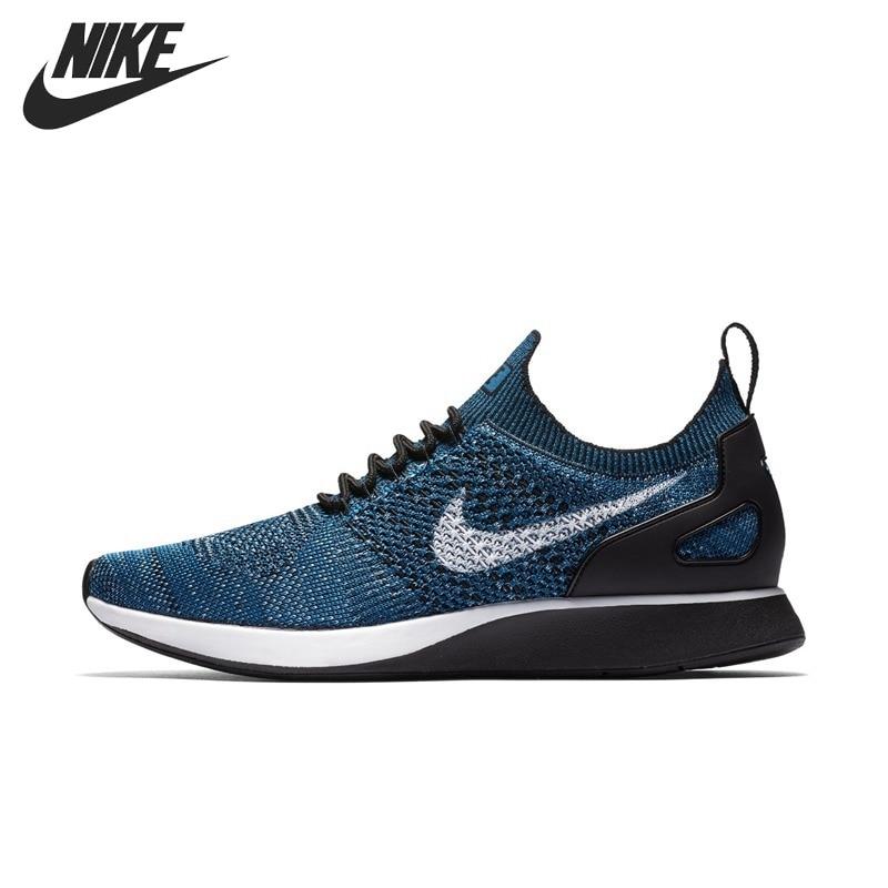 Оригинальный Новое поступление 2018 Nike Air Zoom МЭРАЙИ Flyknit Racer Для Мужчин's Кроссовки Спортивная обувь