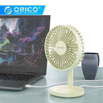 ORICO Desktop Mini USB Fan USB 3 Level Air Cooling mini Fan for Home/Office Student Dormitory USB Gadget - DISCOUNT ITEM  32% OFF All Category