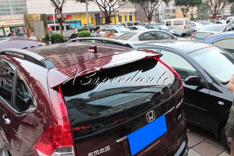 For Honda CRV CR-V Spoiler/Wing Painted 6 Colors For You Pick ABS Plastic For 2012-16