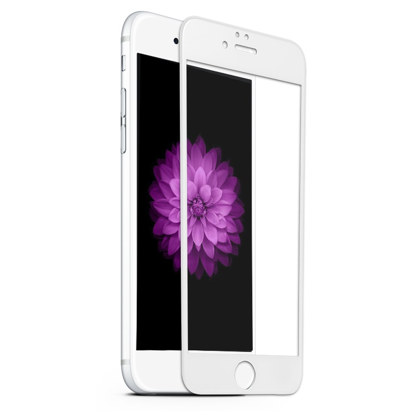 For iPhone 6s 4.7-inch <font><b>Tempered</b></font> <font><b>Glass</b></font> <font><b>BENKS</b></font> <font><b>X</b></font> <font><b>Pro</b></font> for iPhone 6 6s <font><b>Full</b></font> <font><b>Size</b></font> <font><b>Tempered</b></font> <font><b>Glass</b></font> 3D Curved Screen Film - White
