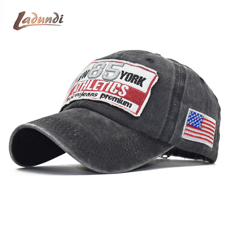 LADUNDI 2019 New Washed   Baseball     Cap   Fitted   Cap   Snapback Hat For Men Bone Summer Casual fishing Hat for Men Women   Caps   hats