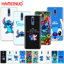 HAMEINUO cute cartoon Lilo Stitch Cover phone Case for Huawei NOVA 2 2S 3e PLUS LITE p smart 2018 enjoy 7s mate 7 8 9 10 pro(China)