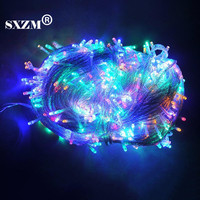 Free Shipping 50M Led String Lights Outdoor Decoration Light 50M 400led Decoration Light Waterproof Christamas Light