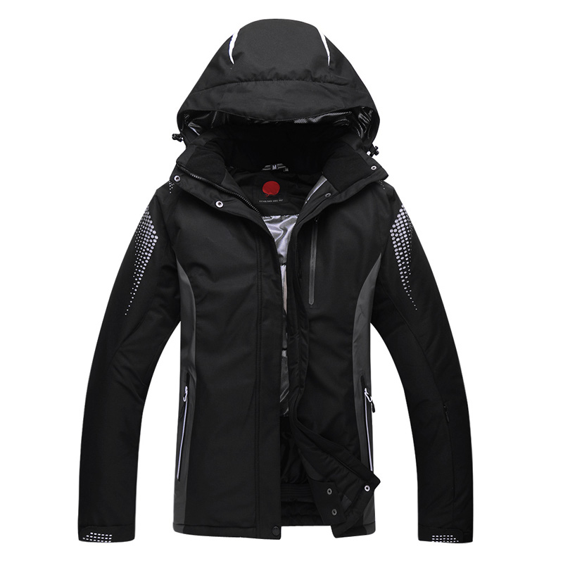 Outdoor professional ski suits men and women winter wind and waterproof jacket men's snowboarding shirt female free shipping