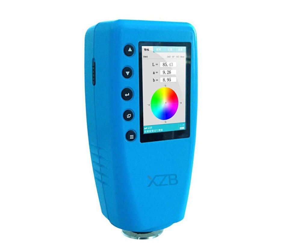 Analyseur de couleur Précis numérique Mètre de Différence de Couleur De Colorimètre Testeur 8mm