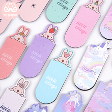 Mr Paper 6 Parttens Cute Cartoon Rabbit Piggy Fruits Magnetic Bookmarks for Novelty Book Reading Maker Page Creative Bookmarks sitemap 6 xml hrefpage hrefhref page 7