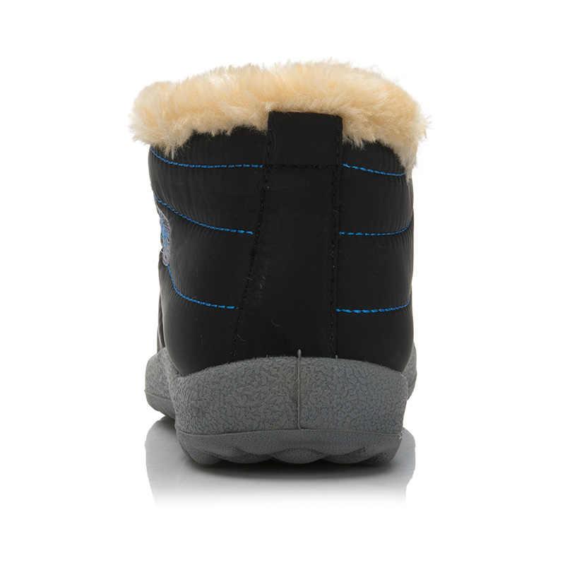 Size35-48กันน้ำผู้หญิงฤดูหนาวรองเท้าคู่U Nisexหิมะที่ทำจากขนสัตว์ที่อบอุ่นภายในAntiskidด้านล่างให้อบอุ่นแม่รองเท้าลำลอง
