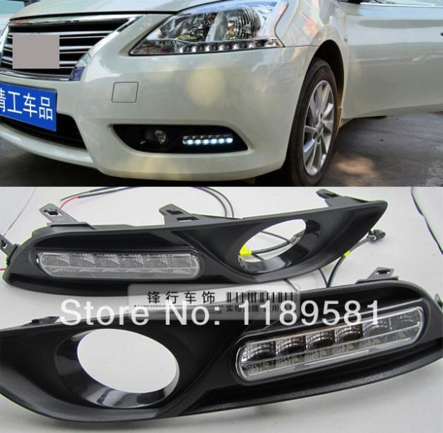 For Nissan Sentra 2013 2014 Replace Led Daytime Running