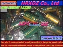SZFTHRXDZ 20 PCS 50 V 820 UF 13X20 capacitor eletrolítico 820 UF 50 V 13*20
