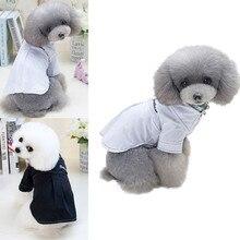 Весенне-летняя Однотонная рубашка для собак, костюмы для домашних животных, жилет-одежда для собак, модная Милая одежда, Ropa para mascotas