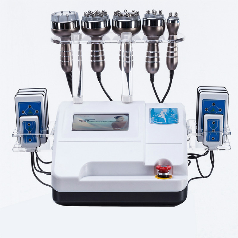 Prezzo di fabbrica 8 Pads Diodo Lipo Laser + 40 K Cavitazione macchina + Dimagrante di Vuoto RF Cellulite Macchina di Perdita Di Peso