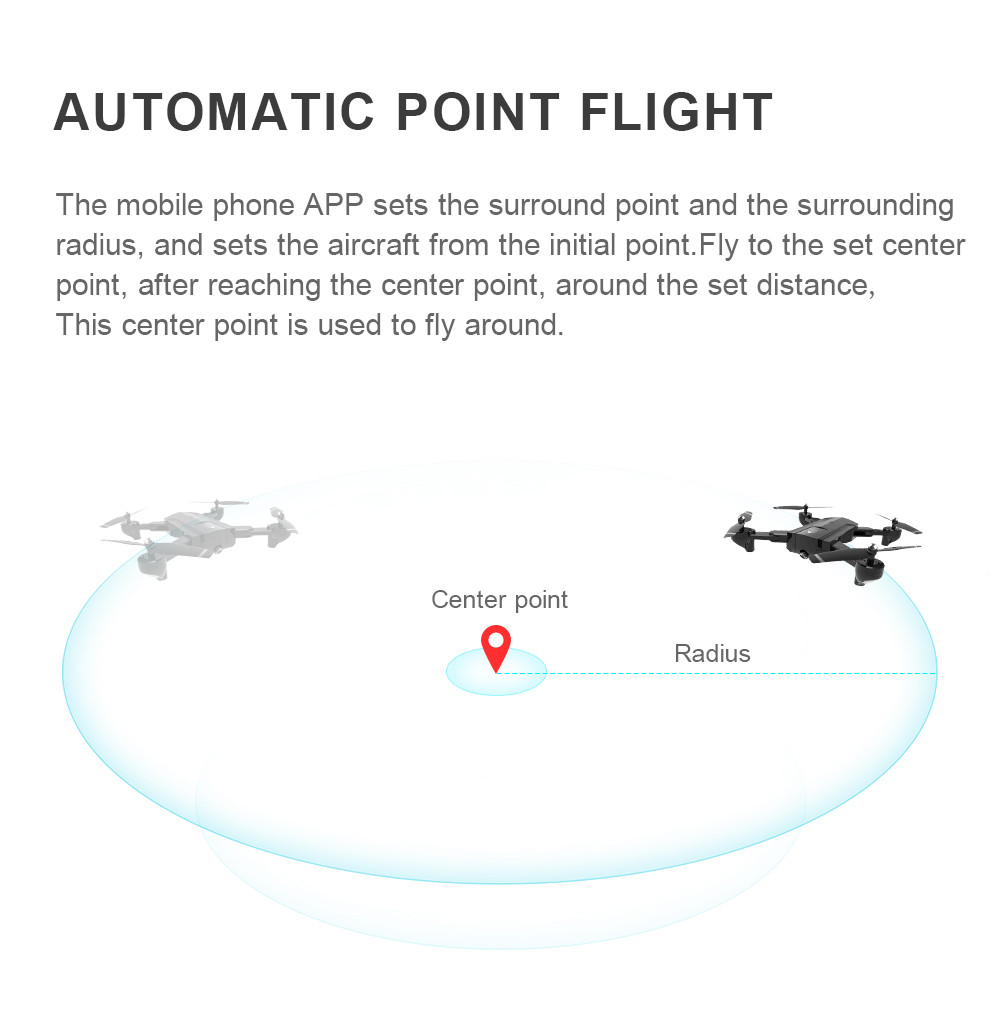 Global Drone Foldable GPS Follow Drone with Camera Full HD RC Quadcopter Profissional FPV Drones Quadrocopter VS VISUO XS812 19