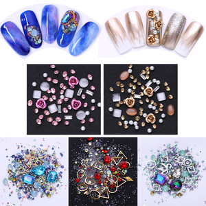 3D Crystal Stones Nail Art Dec