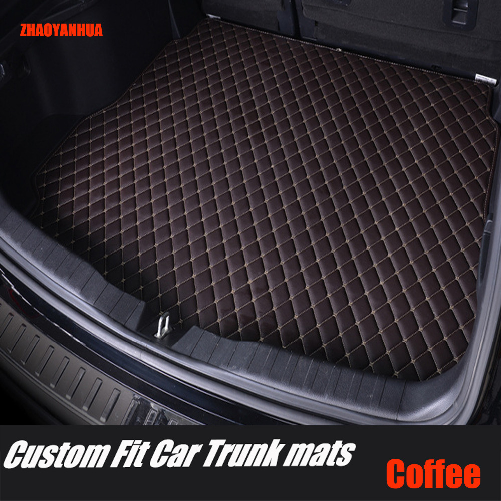Custom fit car trunk mats for Mercedes Benz C117 X117 CLA class 180 200 220 250 260 AMG 45 car-styling liners rugs carpet (2013- Mercedes-Benz CLA-класс