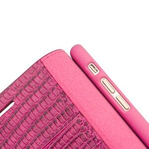 Image 4 - QIALINO Genuine Leather Phone Trường Hợp cho iPhone 8 Thời Trang Handmade Khe Cắm thẻ Phụ Nữ Sang Trọng Lật Bìa cho iPhone8 Cộng Với 4.7/5.5 inch