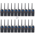 Exclusive sale 20PCS BAOFENG UV-5X Dual Band two Way Radio UHF+VHF 65MHz~108MHz 128 Channel DCS CTCSS+ 20x Earpiece