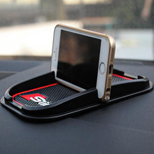 Sline 3D phone Mat GPS Support Car Accessories Mobile Phone Anti Slip Pad For Audi A2 A3 A4 A6 A8 A7 TT Q3 Q5 Q7 RS3 RS5 RS7