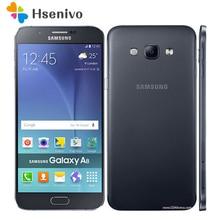 """100% Оригинальный разблокирована Samsung Galaxy A8 A8000 мобильный телефон 5.7 """"Восьмиядерный 16.0MP Камера Android 5.1 2 ГБ Оперативная память 16 ГБ Встроенная память телефона"""