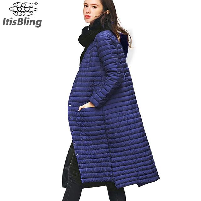 90% de Pato Blanco Abajo de la Capa Delgada Párrafo Fino Largo Extensión de La Rodilla 2016 botas de Nieve Invierno de Las Mujeres Con Capucha de Un Solo pecho chaquetas