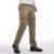 Moda hombres del ejército de carga cremallera bolsillos tácticos militares pantalones camuflaje de color caqui de algodón flojos ocasionales de las bragas