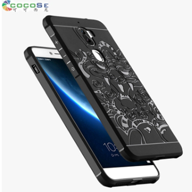 COCOSE Silicone Case For Letv Leeco Cool 1 Coolpad Cool1 5.5 Ultra-thin 3D Carved Coque Luxury Back Cover Anti-knock