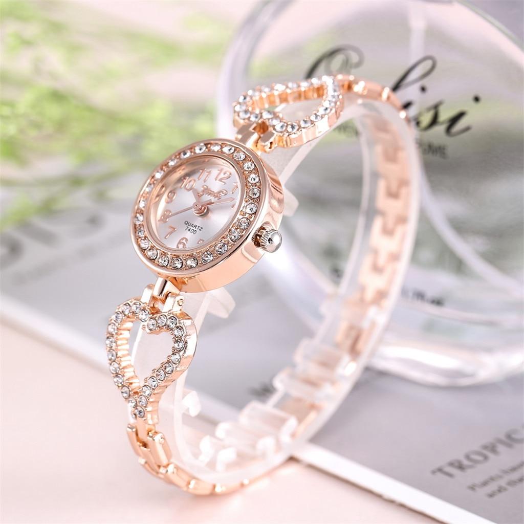 Women's Full Diamond Luxury Watch