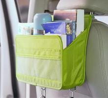 Car styling Rear Seat Back Organizer Storage bag Hanging Bag Multi-functional Travel Pocket Green Blue