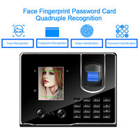 OULET Fingerprint Time Attendance Face Recognition Time Clock Biometric Reader Access Control Recorder Employee For Office