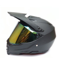 Full Face Cascos Para Moto Motorcycle Helmet Motocross Capacete For Racing Downhill Shark Professional DOT Approved