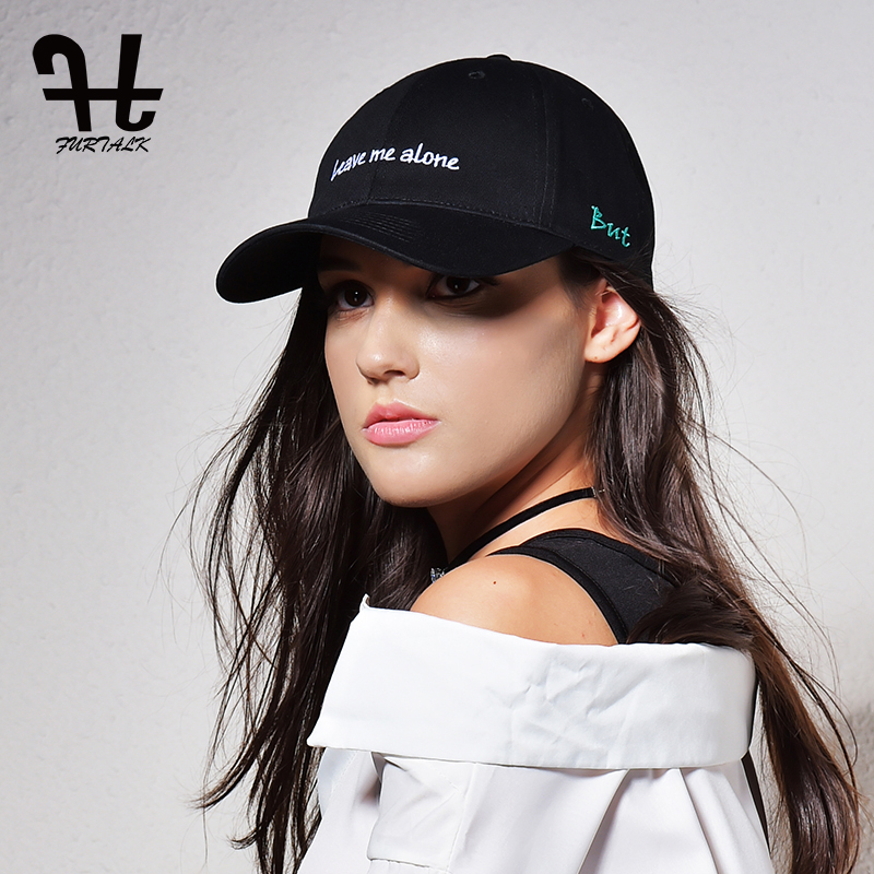 Furtalk Women Cotton   Baseball     Cap   Adjustable Man Hat Embroidery   Baseball     Cap   Hip Hop Dad Snapback Hat Female 2019 Summer Hat