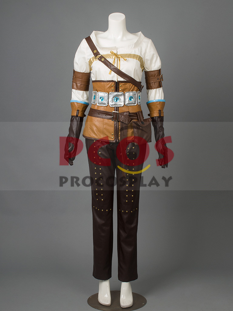 The Witcher 3: chasse sauvage Cirilla Cosplay Costume mp003141