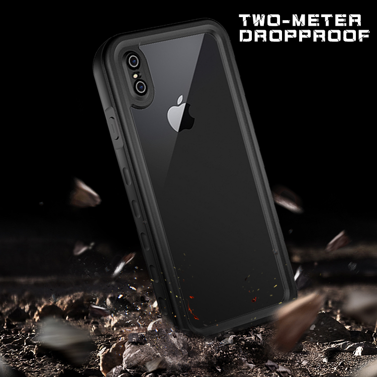 Image 3 - 360 Full Protect For iPhone X Xs  Max Xr Case Shockproof phone cover for iPhone 11 Pro 6s 7 8 Plus Cases Waterproof dust proofFitted Cases   -